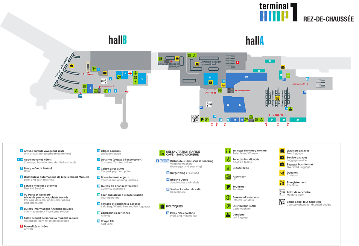 Marseille Provence Airport Indoor Maps